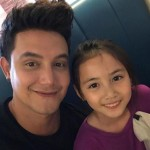 Paolo Ballesteros shares artistic painting of his daughter Keira