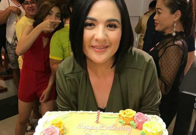 Sunshine Dizon gets a birthday surprise from 'Kambal Karibal' family