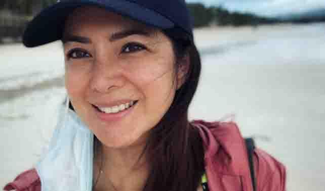 Resort clarifies Alice Dixson's presence in Boracay