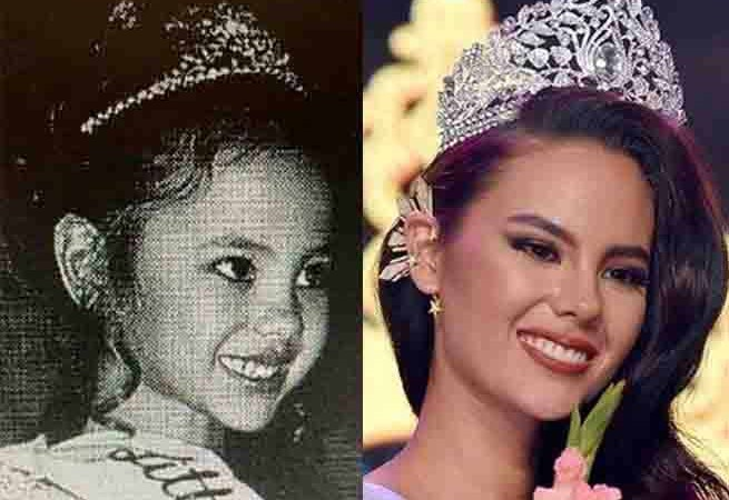 LOOK: Young Catriona Gray as 'Little Miss Philippines'
