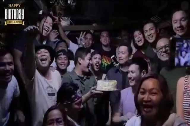Coco Martin prepares birthday surprise for Lito Lapid on set of 'Ang Probinsyano'