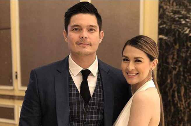 Marian Rivera spends time with Dingdong Dantes on his birthday