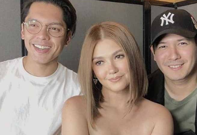 Recent photo of 'G-mik' stars Carlo Aquino, Angelica Panganiban, and John Prats leaves fans feeling nostalgic