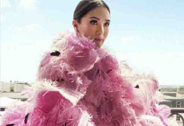 Is Heart Evangelista wearing a gown worth Php10M for her pictorial?