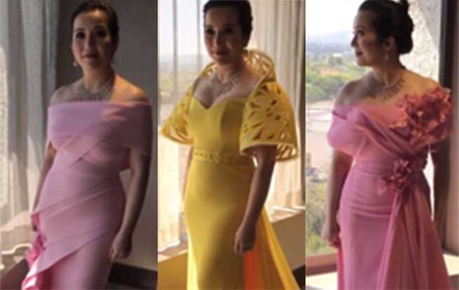 Which of these 5 gowns should Kris Aquino wear at the \'Crazy Rich ...