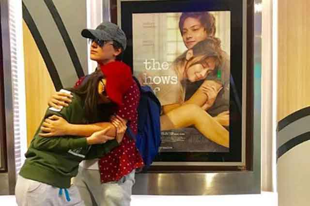 LOOK: Maymay Entrata and Edward Barber re-create 'The Hows of Us' poster