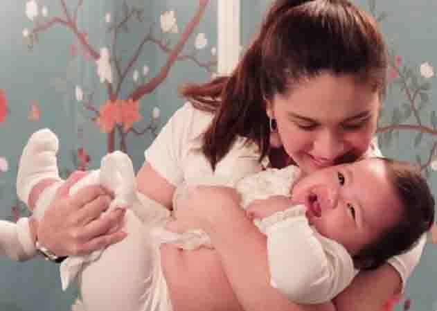 Pauleen Luna brings baby Tali to Hongkong