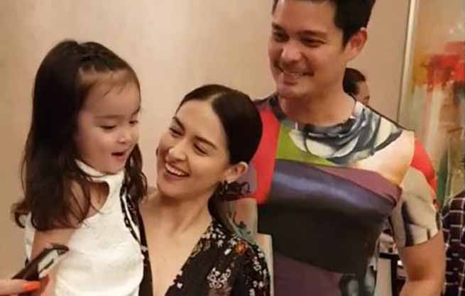 Baby Zia wishes for a baby brother on Marian Rivera's birthday