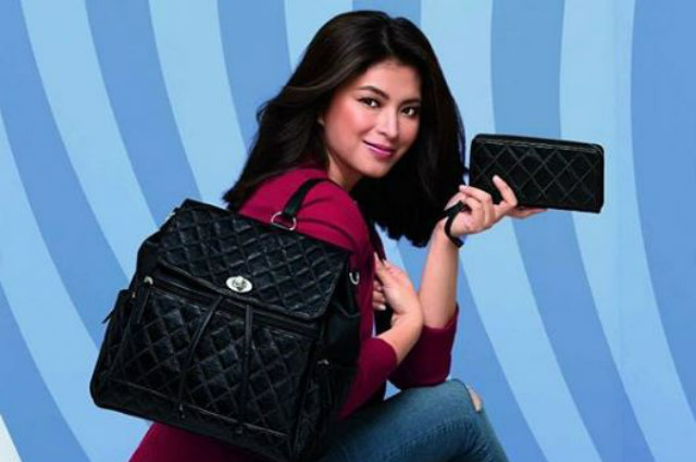Angel Locsin launches her personally designed bag collection