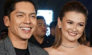 "Celebrities show support to Carlo Aquino and Angelica Panganiban's movie ""Exes Baggage"""