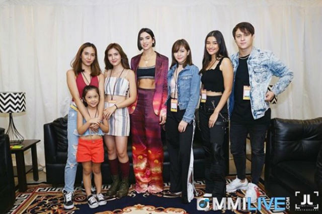 LOOK: Liza Soberano, Enrique Gil, Sofia Andres, Janella Salvador meet Dua Lipa up close