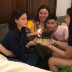 Erich Gonzales receives a sweet birthday surprise from Julia Barretto and family