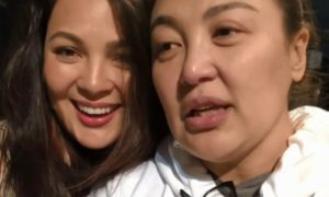 Sharon Cuneta gets emotional after rehearsing her performance with KC Concepcion for her concert