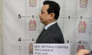 Sen. Trillanes posts bail after arrest