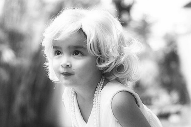 LOOK: Baby Zia as Little Miss Marilyn Monroe