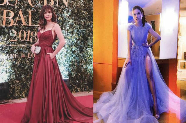 SPOTTED: Bangs and high slit among the trends at the ABS-CBN Ball