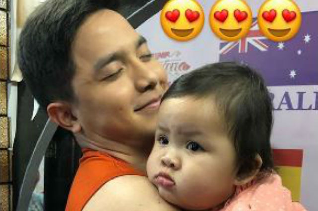 Baby Tali shares sweet moment with her 'ninong' Alden Richards