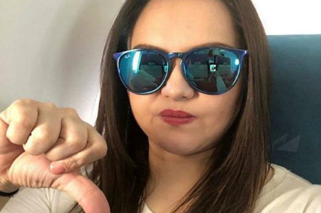 "Angelika Dela Cruz hits back at basher: ""Maka dilaw ka pala kaya ka ba galit saken?!"""