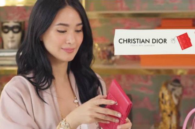 WATCH: Heart Evangelista shows what's inside her bag— branded and designer stuff