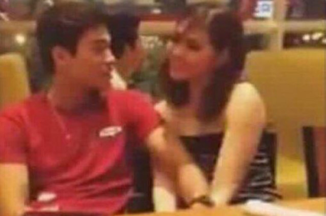 Janella Salvador and Marco Gumabao allegedly spotted at a restobar together