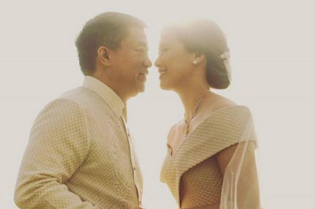 Sen. Koko Pimentel ties the knot with chef Kathryna Yu