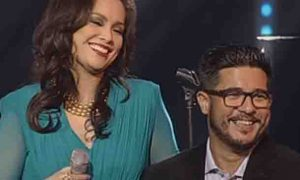 "Lea Salonga jokes about Aga Muhlach's singing:  ""kapal ng mukha"""