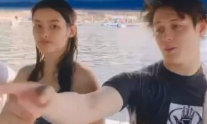 Liza Soberano and Enrique Gil's families go on a Batangas trip together