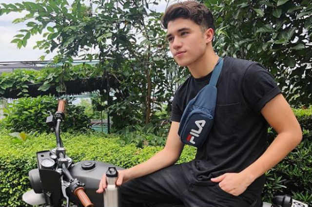 Markus Paterson involved in a motorcycle accident