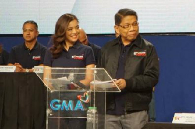 Mike Enriquez is back on GMA after medical leave