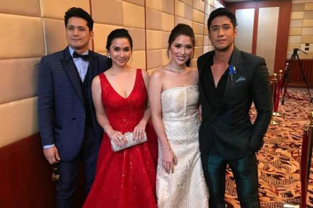 LOOK: Robin Padilla, Mariel Padilla, Kylie Padilla, Aljur Abrenica together at the ABS-CBN Ball