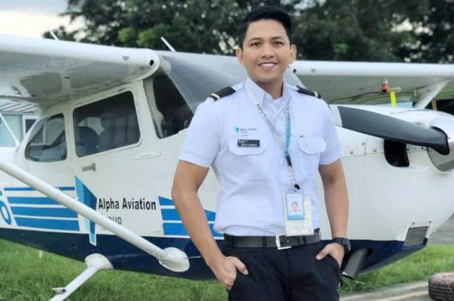 Former reporter Steve Dailisan is now a pilot