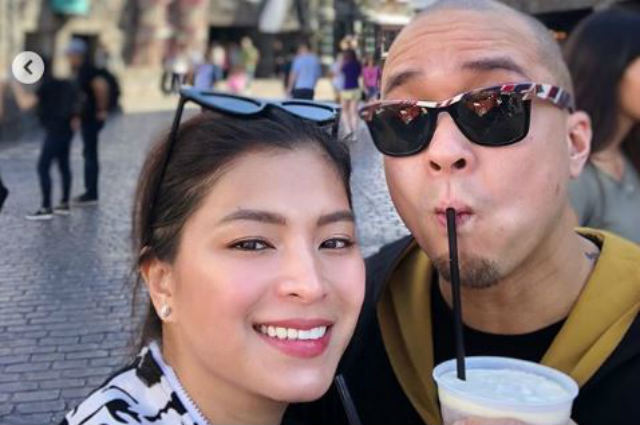 LOOK: Angel Locsin and Neil Arce go on a date in Universal Studios Hollywood