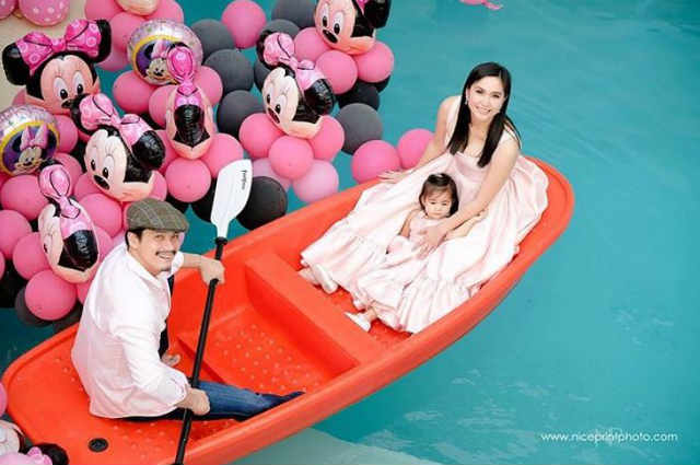 LOOK: Baby Isabella Padilla, in her Minnie Mouse-themed pre-birthday photo shoot