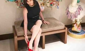 Vicki Belo wows netizens with her clothing style and flawless legs