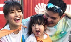 WATCH: Baby Zia joins Marian Rivera and Dingdong Dantes in Color Run Hero 2018
