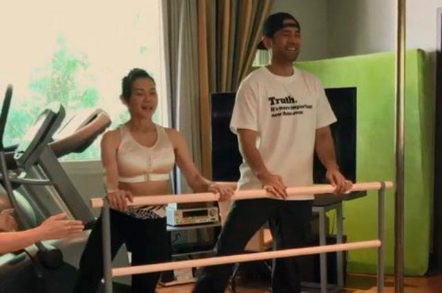 WATCH: Hayden Kho learns ballet for Scarlet Snow Belo