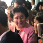 Imelda Marcos temporarily set free after posting P150K-bail