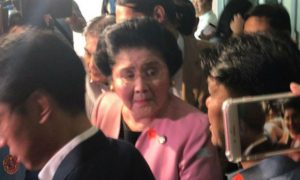 Imelda Marcos temporarily set free after posting P150K-bail