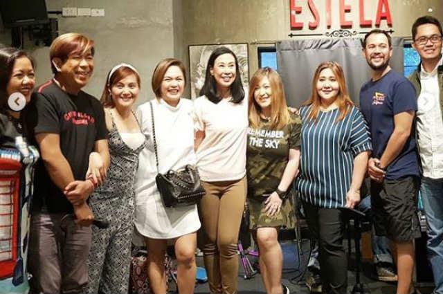 "LOOK: Judy Ann Santos and Gladys Reyes reunite with original ""Mara Clara"" family"