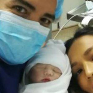 Aubrey Miles and Troy Montero welcome their baby girl