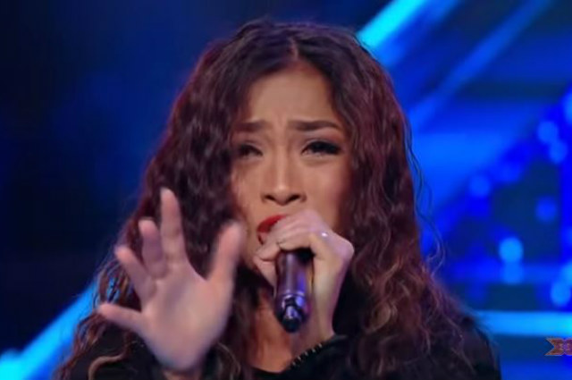 WATCH: Singer Bella Santiago is the first Filipina to advance in 'X-Factor Romania' live shows