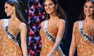 WATCH:  Catriona Gray talks about her iconic slow-mo turn and the 'lava' walk