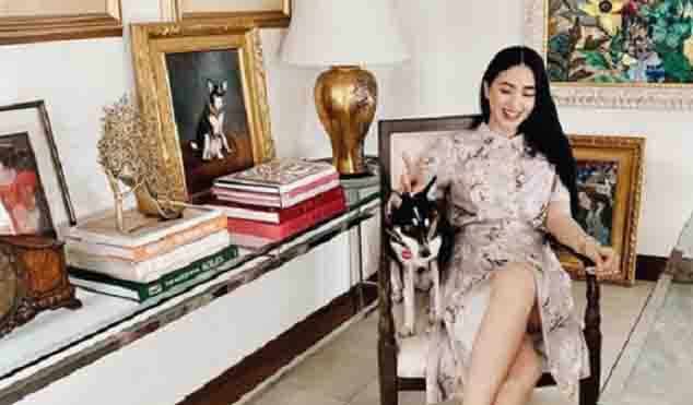 Heart Evangelista gets emotional over Chiz Escudero's Christmas gift to her