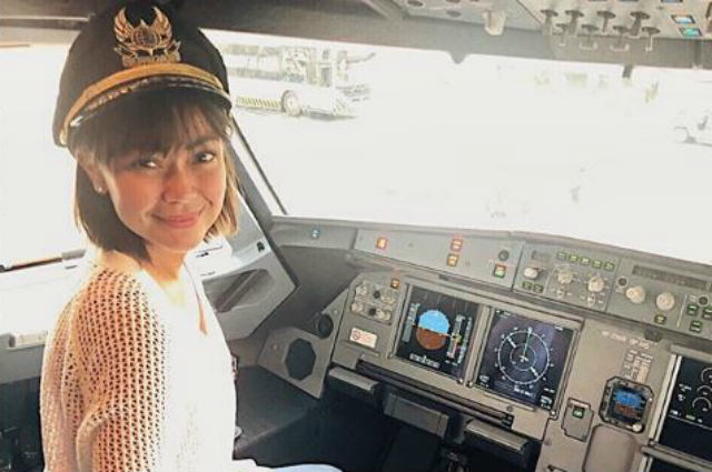 Jodi Sta. Maria considers enrolling to flying school after finishing Psychology course