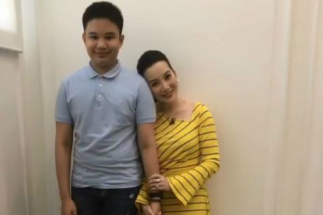 Kris Aquino reveals why she does not want Bimby to play basketball