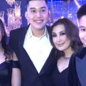 Joshua and Bimby attend Frankie Pangilinan's debut party without mommy Kris