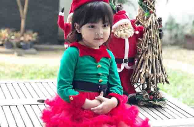 Zia Dantes wows netizens with her Christmas-themed outfit