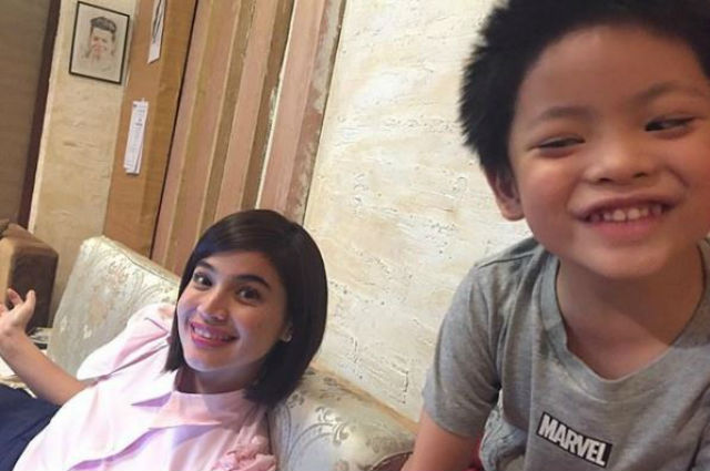Regine Velasquez shares adorable throwback photo of son Nate swooning over Anne Curtis