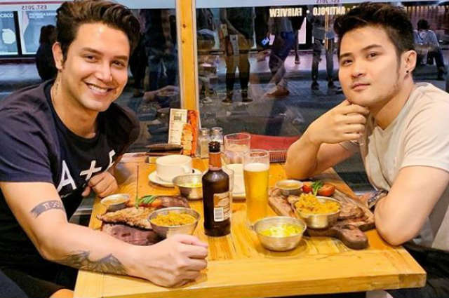Paolo Ballesteros and rumored boyfriend exchange sweet messages on Instagram