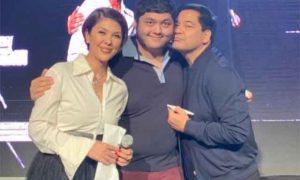 Pops Fernandez and Martin Nievera reunite on her birthday